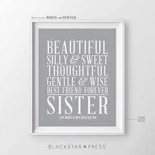 christmas gift for sisters birthday gift for sister christmas