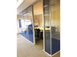 Double Glazed Units With Integral Blinds Prices Glass Partitioning At Streatley Software Ltd Reading Berkshire
