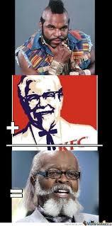 Mr T Meme - mr t kfc by shadowgun meme center