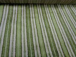 Regency Stripe Upholstery Fabric Plush Vintage 54