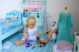 american doll disney frozen elsa u0027s bedroom watch in hd