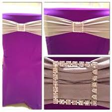 Purple Chair Covers Purple Chair Covers With Pink Sashes Charming Chairs