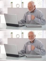 High Guy Meme Generator - old guy pc blank template imgflip