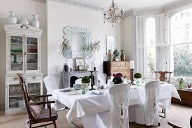 shabby chic cream dining room extendable table u2013 design ideas