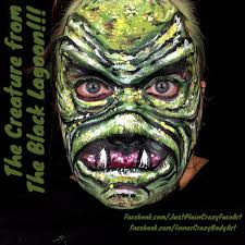 the halloween party from the black lagoon facepaint twitter search