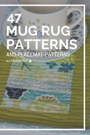 Ocean Themed Rug 877 Best Quilted Mug Rugs Images On Pinterest Mug Rugs Table