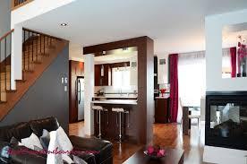 cuisine et salon ouvert avant après une aire ouverte transformée martine bourdon