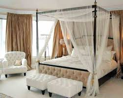 White Canopy Bed Curtains Sheer Curtains For Canopy Bed Gemeaux Me
