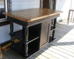 kitchen islands on casters kitchen island etsy