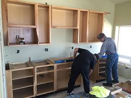 how to install your own cabinets construction cabinet installation an eclectic mind