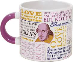 quotes about christmas and coffee amazon com shakespeare love coffee mug shakespeare u0027s most