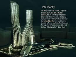 Zaha Hadid Philosophy | zaha hadid