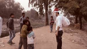 giving christmas gifts to under privileged kids youtube