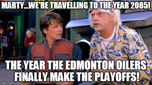 Edmonton Memes - back to the future imgflip