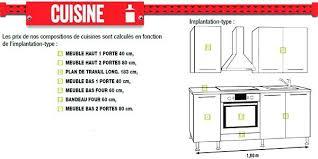 element de cuisine brico depot cuisine plan type plan type cuisine finest superior carrelage
