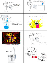 dat lead water rage comics know your meme
