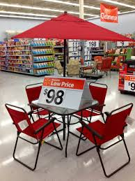 Red Patio Dining Sets - amazing finds at the walmart supercenter in burlington nj a new