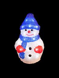 Lighted Snowman Outdoor Decoration by Brilliant Decoration Light Up Christmas Decorations Lighted