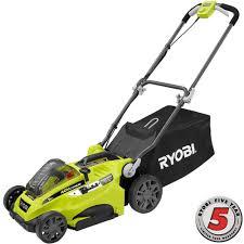 ryobi 16 in 40 volt lithium ion cordless battery walk push