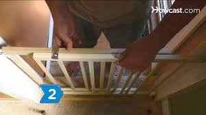 Large Pressure Mounted Baby Gate How To Install Hardware Mounted Baby Gates Youtube