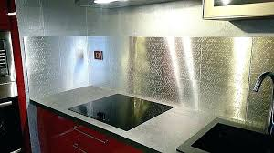 credence cuisine inox credence cuisine inox mirrored mosaic tile a lovely cuisine amenagee