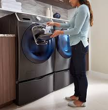 Samsung Pedestals For Washer And Dryer White Samsung Washing Machines Front Load U0026 Top Load Washers Samsung Us