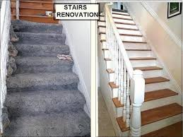 cheap wood stairs white risers find wood stairs white risers