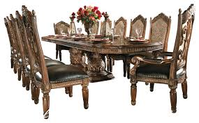dining room table set 8 villa valencia dining room table set with china