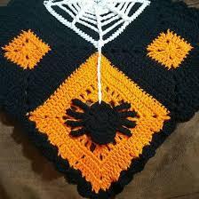 Crochet Table Runner Pattern Spooky Halloween Crochet Table Runner Allfreecrochet Com