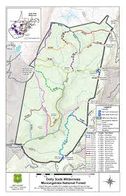 Hiking Maps File Dolly Sods Hiking Trail Map Jpg Wikimedia Commons