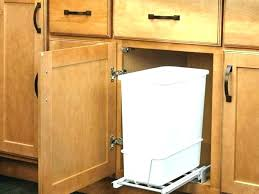 under cabinet pull out drawers under cabinet trash compactor rootsrocks club