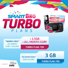 worry free or do everything on the internet with smart bro turbo plans