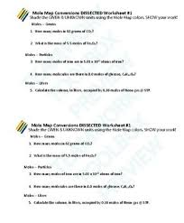 map tool 2 worksheets 20 problems answer keys chemistry
