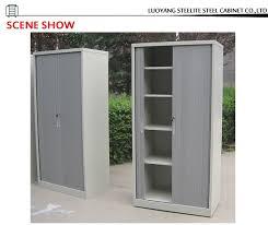Tambour Door Cabinet China Supplier Plastic Roller Shutter Door Cabinet Office Steel