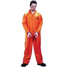 Bacon Egg Halloween Costume Busted Orange Jumpsuit Halloween Costume Size