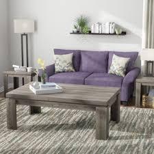 coffee table grey living room grey coffee table sets you ll love wayfair
