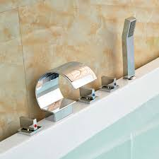Waterfall Tub Faucet Compare Prices On Roman Tub Waterfall Faucet Online Shopping Buy