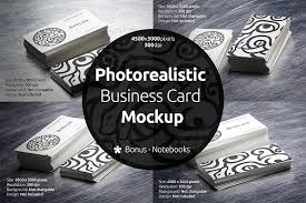 Pixel Size For Business Cards Photorealistic Business Card Mockup Product Mockups Creative