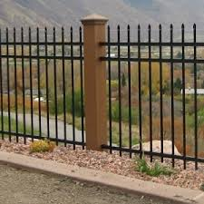 ornamental iron archives trex fencing the composite alternative