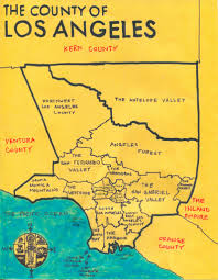 Judgemental Map Of Los Angeles La County Map 28 Images Larger Detailed Map Of Los Angeles