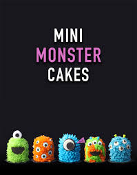 mini monster cakes u2013 bakerella com