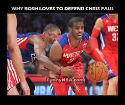 Chris Paul Memes - 2013 funny chris bosh moments nba funny moments