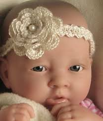 crochet baby headband crochet pattern baby headband with flower trim