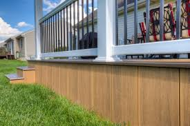 raised house skirting smart solution for hiding piers and dirt in