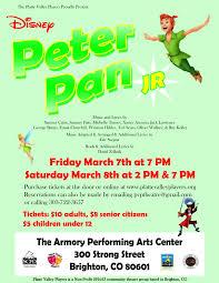 Peter Pan S Home by Disney U0027s Peter Pan Junior Platte Valley Players