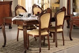 italienische esszimmer wohnzimmer esszimmer garnitur luxus stilmöbel italien nussbaum