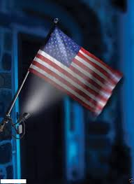 Annin Solar Flagpole Light Amazon Com Outdoor Flag Pole Spot Light Solar Home U0026 Kitchen