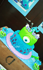 monster university cakes theme monster university rock