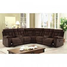 Chenille Sectional Sofas by Recliner Sectional Sofa Brown Chenille Fabric Sectional Sectionals