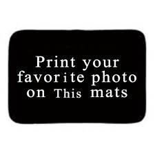 tapis de bureau personnalis personnalisé maison porte d entrée tapis avec photo et texte